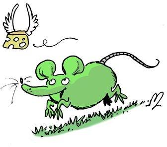 Images de la souris verte par Moski
